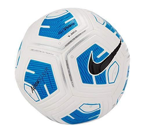 Nike Unisex Strike Team 350G Fußball, White/Blue/Black, 5