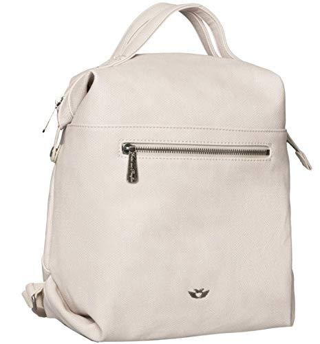 Fritzi aus Preussen Damen Harper Mini Rucksackhandtasche, Elfenbein (Creme), 11x27x34 cm