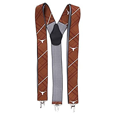 Eagles Wings EAG-8029 Texas Longhorns NCAA Oxford Mens Suspenders
