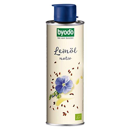 Byodo Bio Leinöl, nativ (1 x 250 ml)