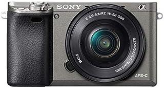 """Sony Alpha 6000 aparat systemowy (24 MP, wyświetlacz LCD 7,6 cm (3""""), czujnik Exmor APS-C, High Speed Hybrid AF) w zestawi..."""
