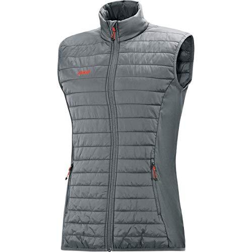 JAKO Damen Steppweste Premium Sonstige Jacke, steingrau, 38