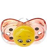 RaZbaby Keep-it-Kleen Pacifier - Silicone - Lola Ladybug by Razbaby