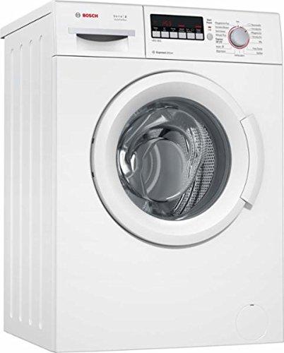 Bosch Serie 2 WAB282HE wasmachine vrijstaand, voorlader, wit, 6 kg, 1400 tpm, A+++, wasmachine (voorlader, wit, draaiknop, aanraking, links, 140 graden)