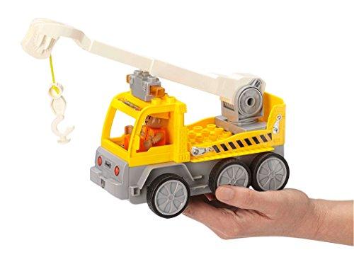 RC Auto kaufen Baufahrzeug Bild 3: Revell Control Junior RC Car Kranwagen - ferngesteuertes Baufahrzeug mit 27 MHz Fernsteuerung, kindgerechte Gestaltung, ab 3, zum Bauen und Spielen, mit Spielfigur, LED-Blinklichtern - 23002*