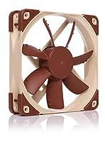 Ventilateur pour refroidissement ultra silencieux, 120x120x25 mm, 12V, 3 broches Molex, 800/600 tr./min, max. 8,6 dB(A), >150 000 h MTTF 3ème génération du célèbre ventilateur 120x25mm S12 avec Anti-Stall Knobs, châssis Advanced Acoustic Optimisation...