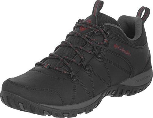 Columbia Peakfreak Venture Waterproof, Zapatos Impermeables Hombre, Black/Gypsy, 42.5 EU