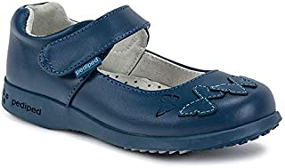 pediped Girls' Janet Mary Jane Flat
