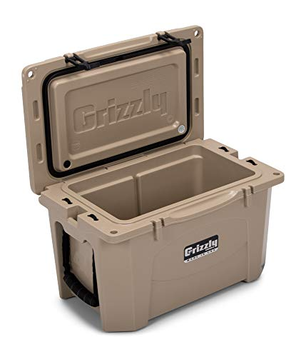 Grizzly 40 Cooler, Tan, G40, 40 QT