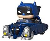 Funko Pop! Rides: Batman 80th - Batmóvil 1950, Color Azul Metalizado, Exclusivo de Amazon