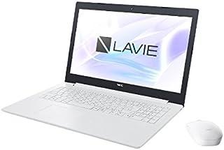 NEC 15.6型 ノートパソコン LAVIE Note Standard NS150/KAシリーズ カームホワイトLAVIE 2018年 夏モデル[Celeron/メモリ 4GB/HDD 1TB/Office H&B 2016] PC-NS1...