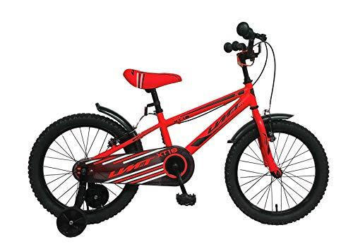 Umit Bicicleta 18' Xt18, Unisex niños, roja