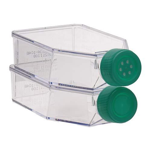 Grynia Ccfp-V50-200 steriele glazen flesjes voor aanbouw, met zichtsluiting, 14,76 mm, mond, 50 ml, inhoud 200 stuks