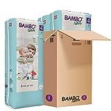 Bambo Nature - Pañales (4 unidades, 4,62 kg, 3 unidades)