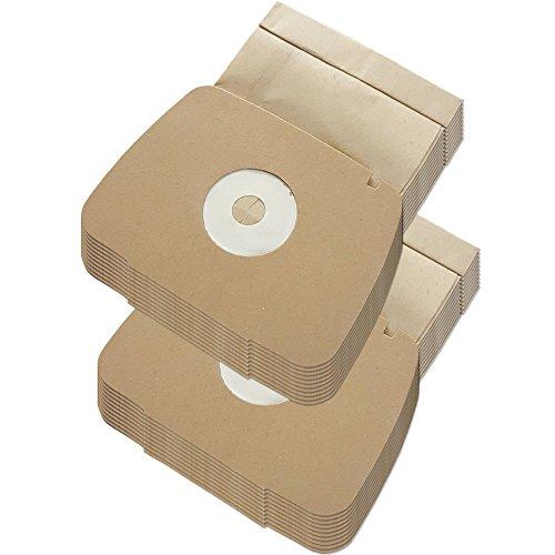 MohMus Set - 20 Staubsaugerbeutel geeignet Für Electrolux LUX 1, Lux1, Classic, Royal, D 820 - D820, Staubcontainer