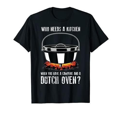 Four hollandais de cuisine pour feu de camp T-Shirt