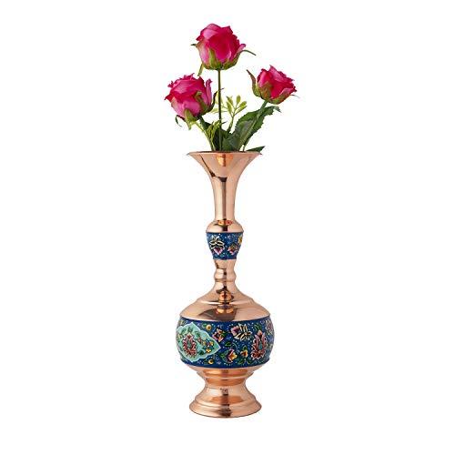 LPUK - Set di 3 vasi Persiano in Rame smaltato, Altezza: 27 cm, Peso: 400 g, Diametro: 12 cm e 9 cm