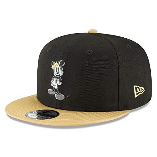 New Era Mickey Mouse Gold Brim 9Fifty Verstellbarer Hut
