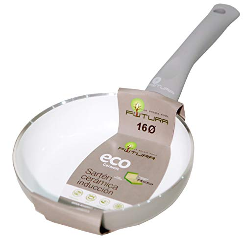 Sarten Ceramica Induccion – 16cm Mango Ergonomico – Aluminio