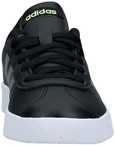 Adidas Vl Court 2.0 K, Zapatillas de deporte Unisex niños, Multicolor (Negbás/Gricin/Amalre 000), 28.5 EU