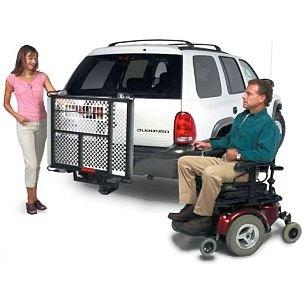 Harmar Mobility AL500 Universal Powerchair Lift Outside Auto Carrier + AL105 Swing Away Joint -  AL500 AL105