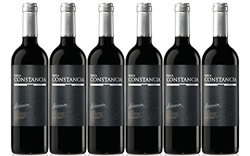 Finca Constancia Selección - Vino Tinto V.T. Castilla - 6 botellas de 750 ml - Total: 4500 ml