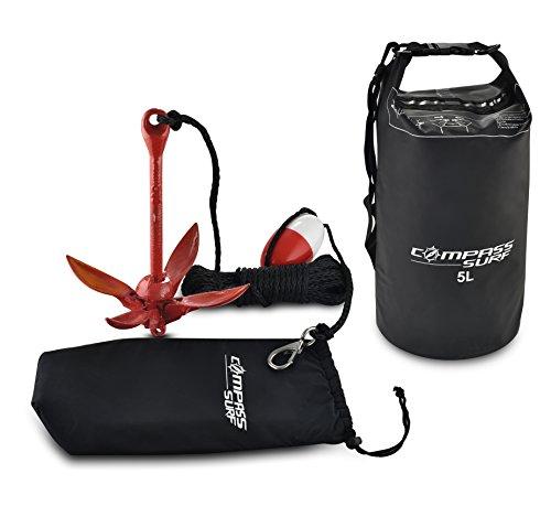 Compass Kayak Anchor Kit + Dry Bag