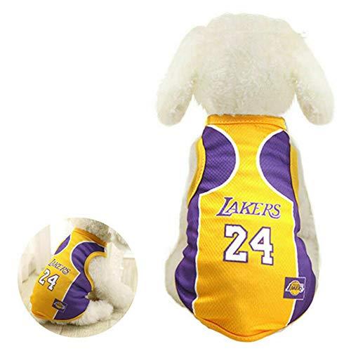 NA Pet Accessories Haustier-Basketball-Weste für Welpen, Golden Retriever, Samo-Kleidung