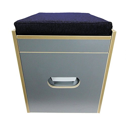 Freizeit Wittke Toiletten Hocker Porta Potti 165/365 inkl.Polster blau ohne Toilette