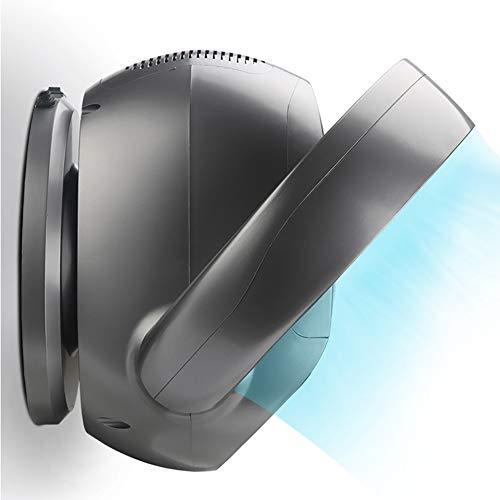 Ventilador Eléctrico Compacto, Pantalla Digital HD, Turbina Silenciosa Que Ahorra Energía, Ventilador Sin Aspas con Control Remoto Y Temporizador, 32W