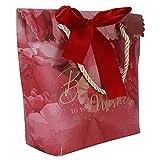 30 bolsas pequeñas portátiles para dulces para decoración de regalo, eventos, fiestas, regalos de boda, cinta roja y cuerda