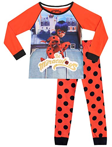 Miraculous Mädchen Ladybug Schlafanzug Mehrfarbig 110