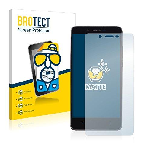 BROTECT 2X Entspiegelungs-Schutzfolie kompatibel mit Elephone P6000 Pro Bildschirmschutz-Folie Matt, Anti-Reflex, Anti-Fingerprint