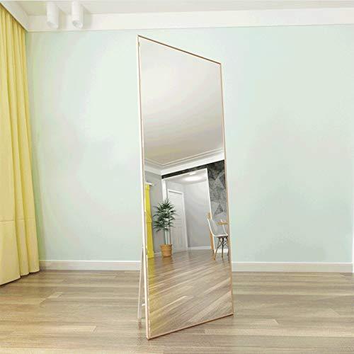 Dormitorio Colgante De Pared Espejo De Vanidad Tienda De Ropa Espejo De Montaje Espejo De Piso De Cuerpo Entero De Madera...