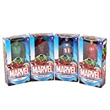 Marvel Set von 4 6 Zoll (15 Zentimeter) Figuren; Spider-Man, Iron Man, Captain America und Hulk