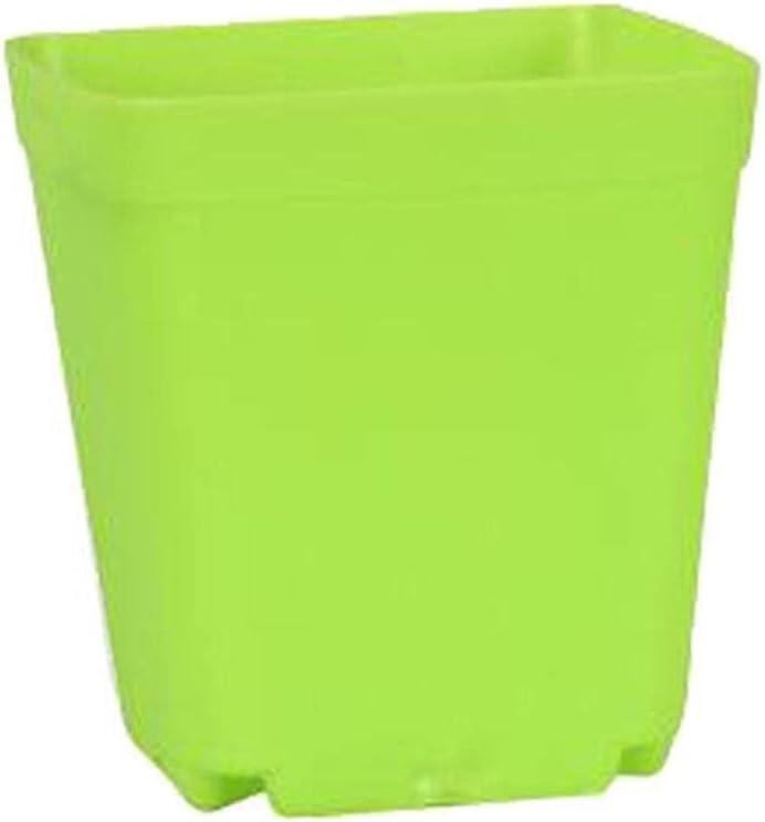 VEIGOU 10pcs Classic 7 Colors Avilable Pots Flower Thicken Pot Planters Free shipping New