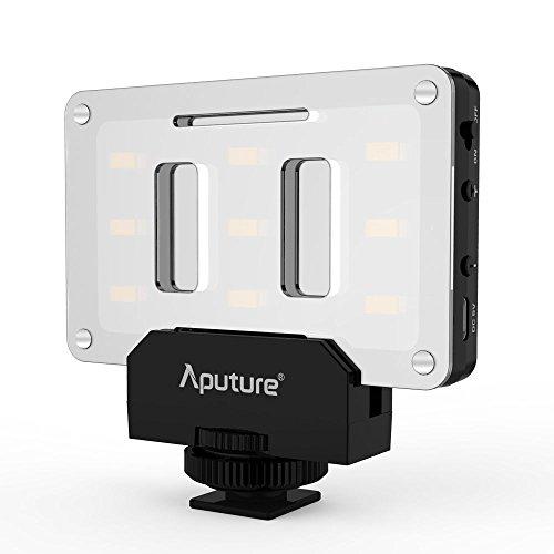 Aputure Amaran AL-M9 Taille de Poche CRI TLCI 95+ SMD Ampoule LED Vidéo DV Incandescent Remplissage Lumière DSLR DV LED Lumière USB Charge