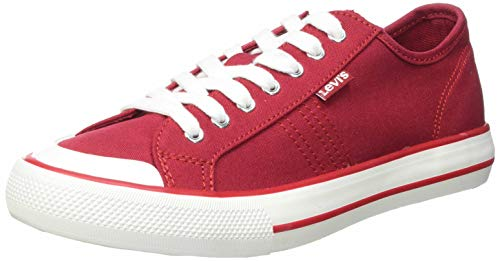 Levi's Hernandez S, Zapatillas Mujer, Brillant Red, 38 EU