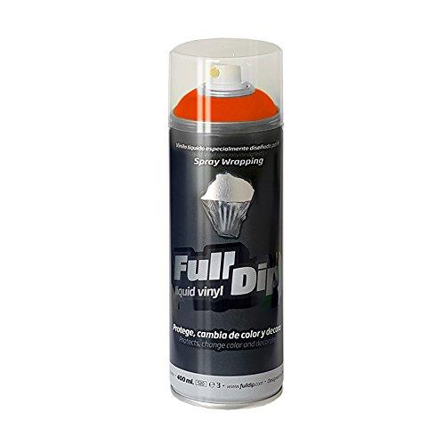 FullDip FLD009 Vinilo Líquido, Naranja, 400 ml