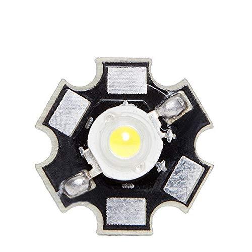 Greenice | LED High Power 35X35 con Disipador 1W 120Lm 50.000H | Blanco Frío