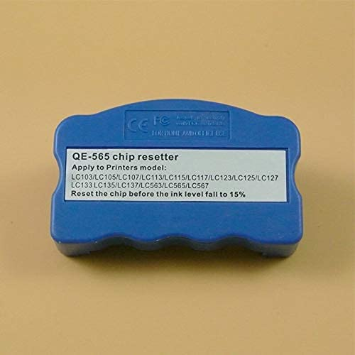zzsbybgxfc Accessories for Printer PRTA31214 Chip Resetter for Brother LC203 LC213 LC223 LC233 LC205 LC207 LC209 LC235 LC237 LC239 LC663 LC665 LC669 Chip Resetter