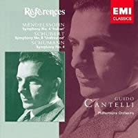 Guido Cantelli - Schubert: Symphony No.8. Schumann: Symphony No.4 Mendelssohn: Symphony No.4 [Japan CD] TOCE-16123 by Guido Cantelli