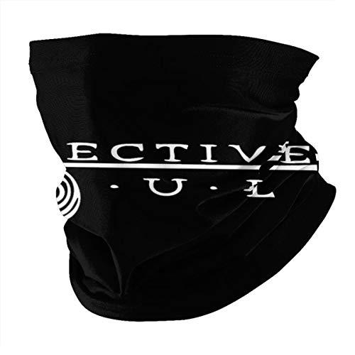 AngelaHenderson Collective Soul Logo Unisex Mouth Face Head Bandanas Windproof Balaclava Scarf Neck Gaiter Black