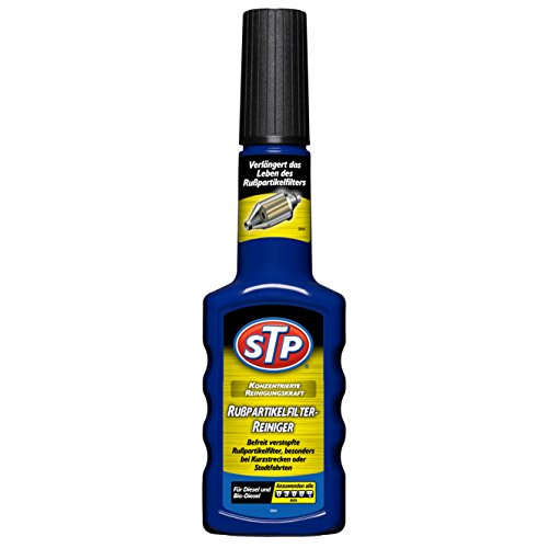 STP GST66200GE Rußpartikelfilter-Reiniger, entfernt Kohlerückstände, Rußablagerungen und reduziert Kraftstoffverbrauch, 200ml