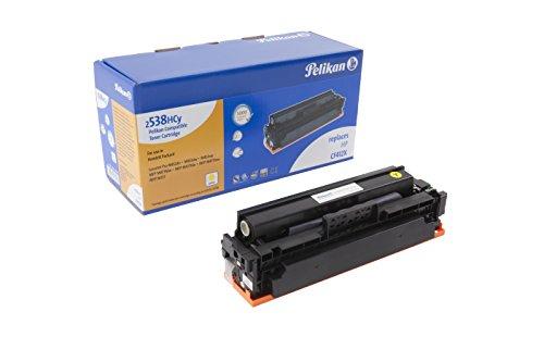 Pelikan Toner ersetzt HP CF412X (passend für Drucker HP CLJ Pro M 452 / MFP M 477X)
