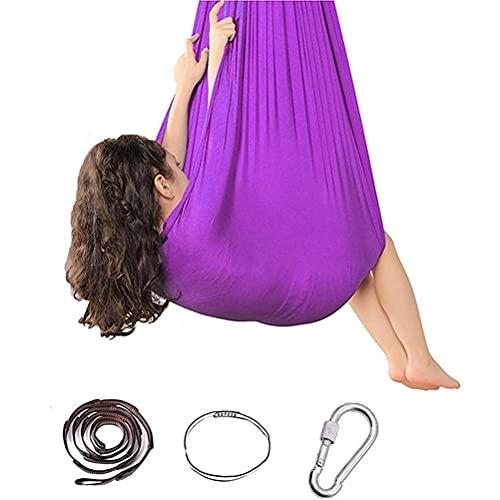 Osuner Hamaca para Yoga aérea, Duradera, Multifuncional, elástica, aérea, para Yoga, Columpio, Juego de hamacas para Yoga, Accesorio de Entrenamiento físico para Principiantes y Profesionales