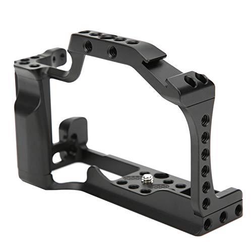 SALUTUYA Plataforma de Jaula de cámara Resistente y Duradera, para cámaras sin Espejo C-anon EOS M50 / M5, Accesorio de cámara