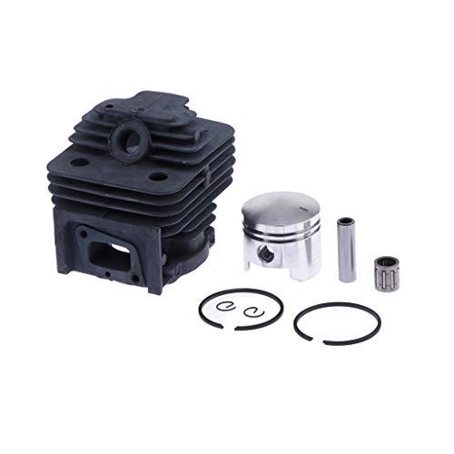 P Prettyia 50ccm 40m 10mm Zylinder Kit 1PE40QMB / 1E40QMB 2 Takt Motor
