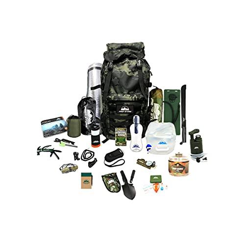 Prep Store Quick - Emergency Survival Pack - Survival Kit - Bugout Bag - Hurricane Emergency Kit - Survival Bag - Bug Out Bag (Quick Kit)