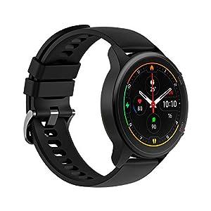 """Xiaomi Mi Watch Pantalla 1.39"""" AMOLED, Medición de Nivel de oxígeno en Sangre, y seguimiendo de 100+ Ejercicios, Color Negro"""